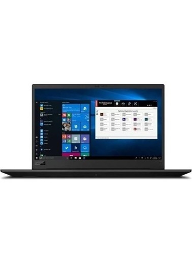 "Lenovo Lenovo Thinkpad P1 Gen3 20TH0016TXZ14 i9 10885H 64GB 1TB+1TB SSD T2000 W10P 15.6"" UHD Renkli"